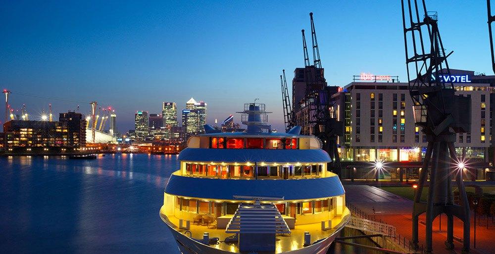 London Sunborn Yacht Hotel